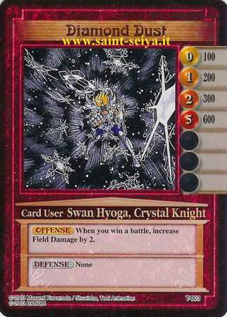 Knights of the Zodiac Cards Ccgt0013