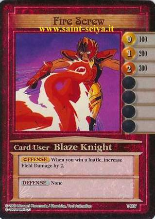 Knights of the Zodiac Cards Ccgt0017