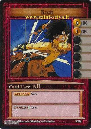 Knights of the Zodiac Cards Ccgt0116