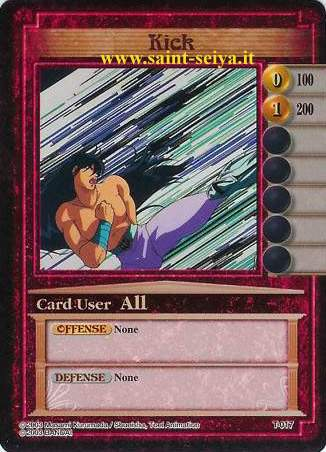 Knights of the Zodiac Cards Ccgt0117