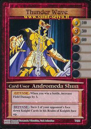 Knights of the Zodiac Cards Ccgt0211