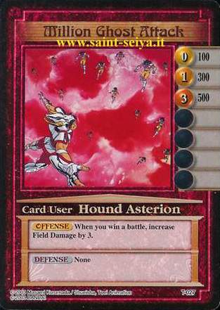 Knights of the Zodiac Cards Ccgt0217