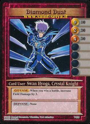 Knights of the Zodiac Cards Ccgt0218