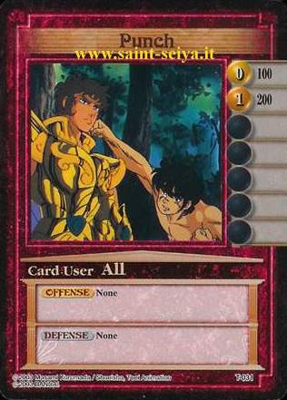 Knights of the Zodiac Cards Ccgt0311