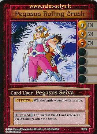 Knights of the Zodiac Cards Ccgt0315