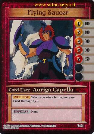 Knights of the Zodiac Cards Ccgt0411