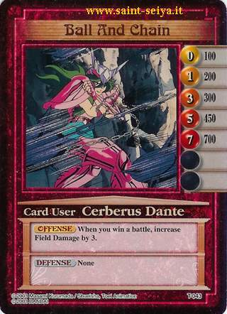 Knights of the Zodiac Cards Ccgt0413