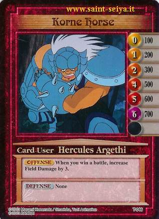 Knights of the Zodiac Cards Ccgt0416