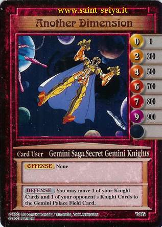 Knights of the Zodiac Cards Ccgt0419