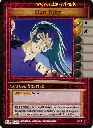 Knights of the Zodiac Cards Ccgt0611