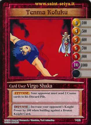 Knights of the Zodiac Cards Ccgt0613