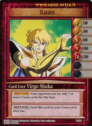 Knights of the Zodiac Cards Ccgt0614