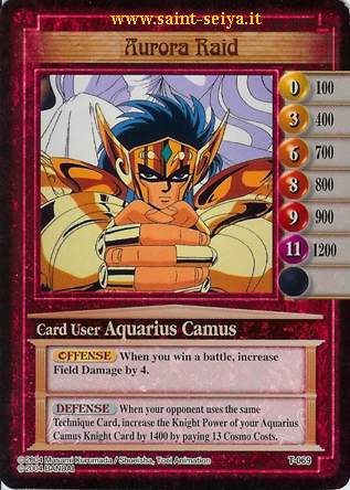 Knights of the Zodiac Cards Ccgt0619