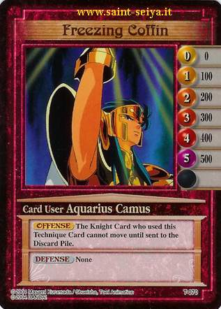 Knights of the Zodiac Cards Ccgt0710