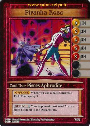 Knights of the Zodiac Cards Ccgt0712