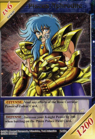 Knights of the Zodiac Cards Img06210