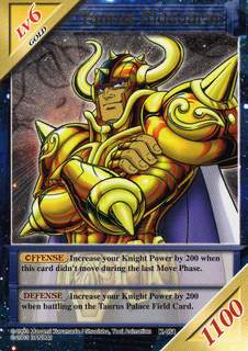 Knights of the Zodiac Cards K051ds10