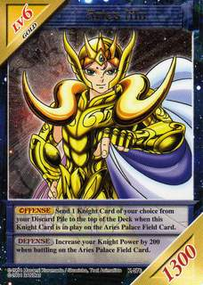 Knights of the Zodiac Cards K076nd10
