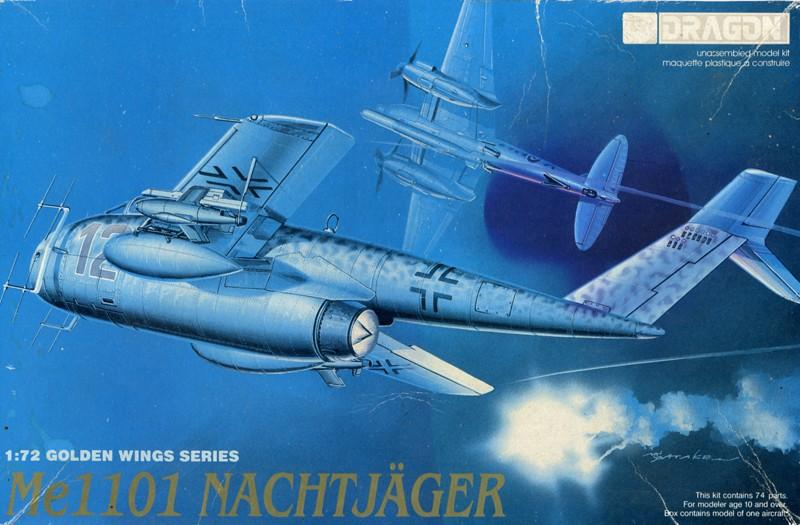 Messerschmitt Me P.1101 Nachtjager [1:72 - Dragon] Dragon10