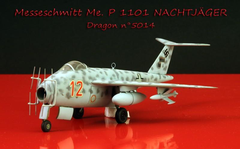 Messerschmitt Me P.1101 Nachtjager [1:72 - Dragon] Messes10