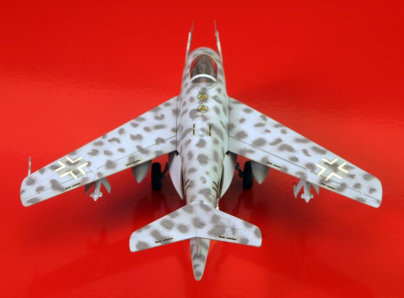 Messerschmitt Me P.1101 Nachtjager [1:72 - Dragon] Messes16