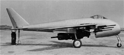 Messerschmitt Me P.1101 Nachtjager [1:72 - Dragon] P1100-10
