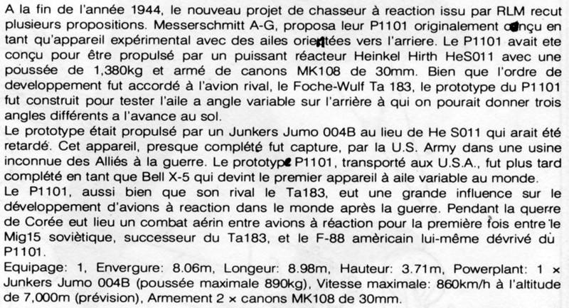 Messerschmitt Me P.1101 Nachtjager [1:72 - Dragon] Texte_10