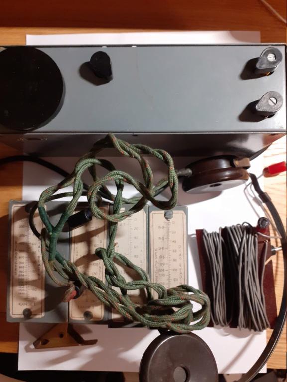 insigne 6e BCA 1er type + radio M1 du maquis 20200927