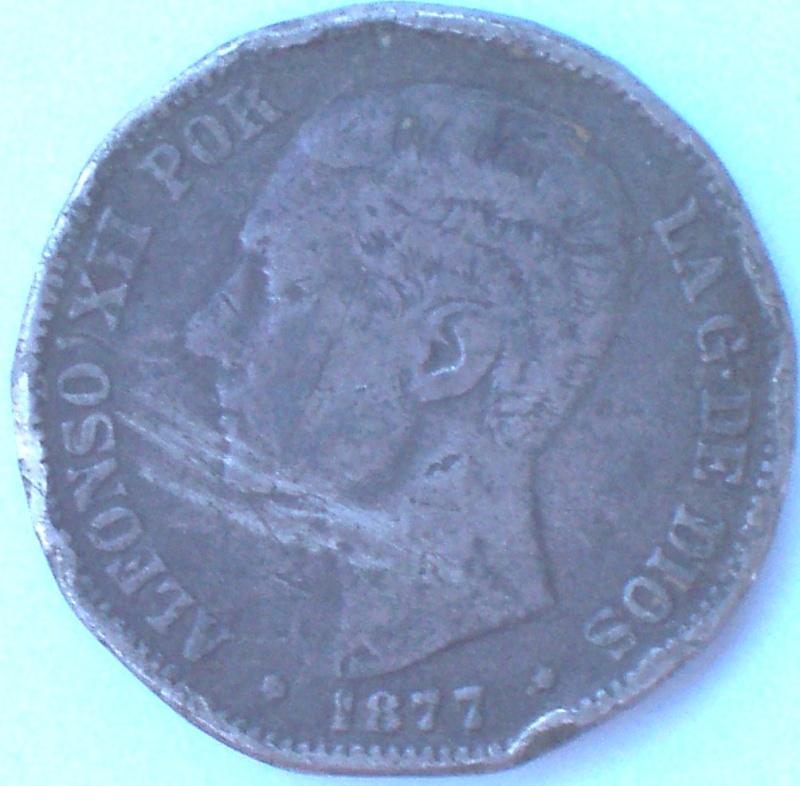 Dos duros de Alfonso XII y Alfonso XIII; falsos 212_a10