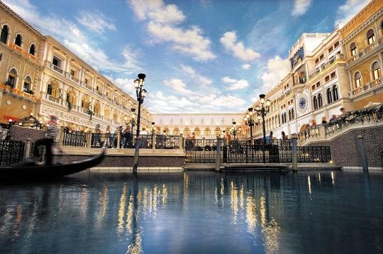 Ouverture du plus grand casino du monde à Macao - Le Venetian Veneti11