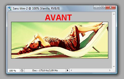 [Photoshop] Ecrire autour d'un objet Avant10