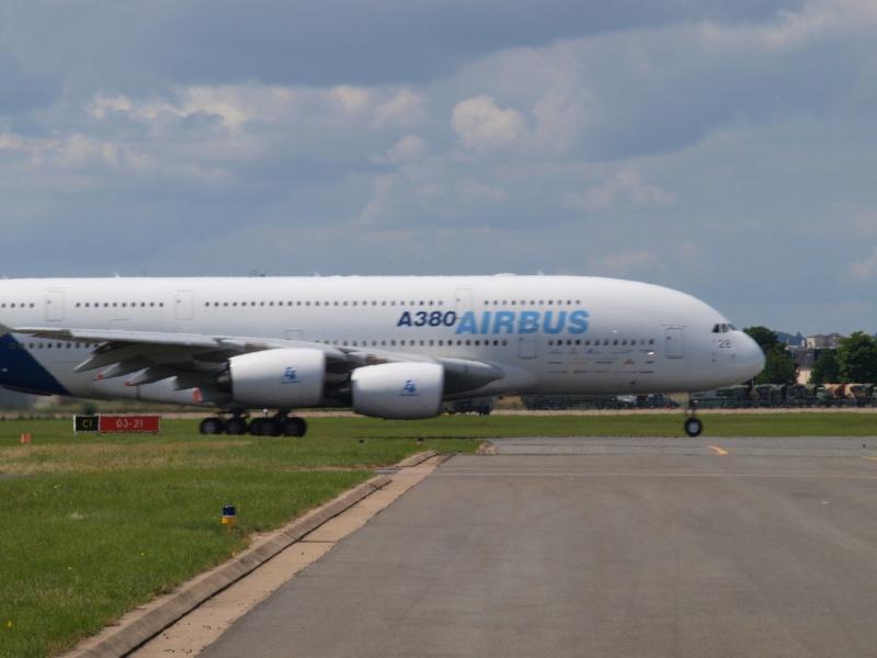A380 - Le Bourget 19/06/09 - 1ére partie P6193210