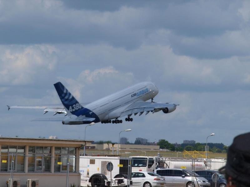 A380 - Le Bourget 19/06/09 - 1ére partie P6193211