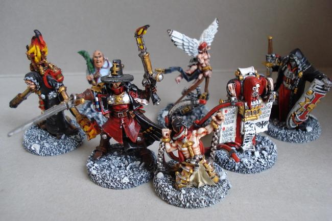 [40k] Mes Chevaliers Gris et mon Inquisition Dsc04813