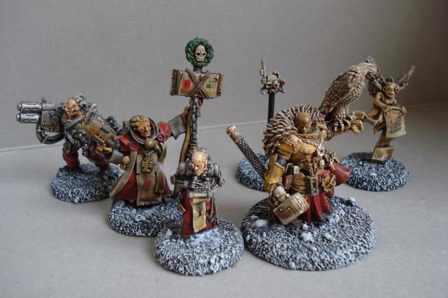 [40k] Mes Chevaliers Gris et mon Inquisition Dsc04814