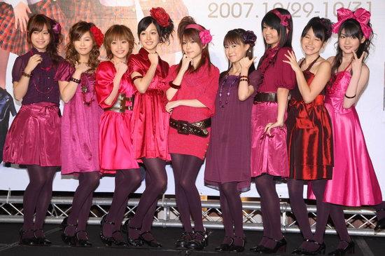 Morning Musume Promote New Album in Korea Mornin10