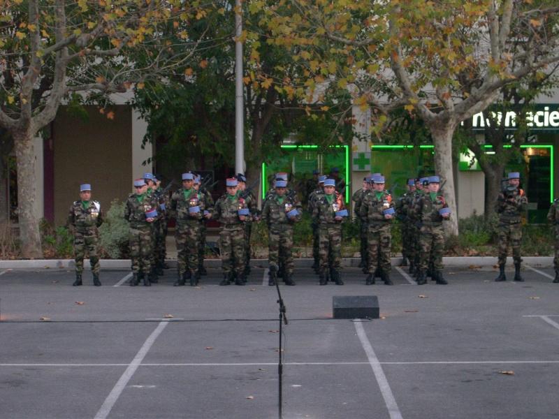 Présentation aux Etendards des nouvelles recrues du 1-11-RC Dscn0029