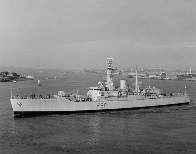 Leander Class frigates 0110