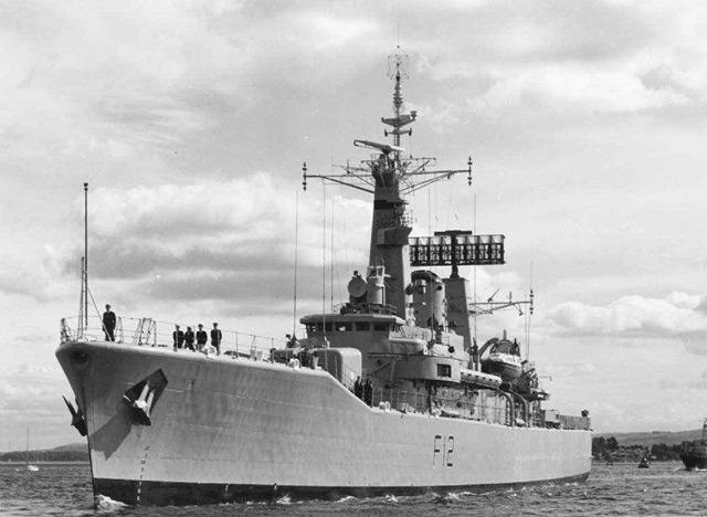 Leander Class frigates 0210