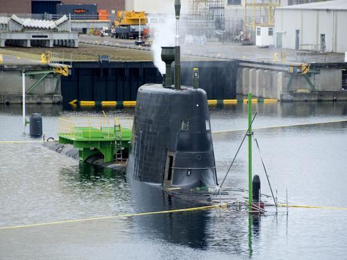 Trafalgar & Astute Class Submarine (SSN Fleet Submarines) Astute12