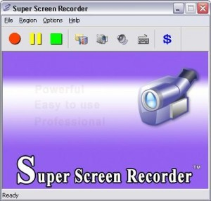 أصغر وأسهل برنامج لتسجيل فيديو لما يحدث على شاشة الكمبيوتر بحجم 3 ميجا فقط Super-10