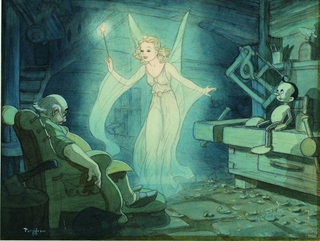 La Merveilleuse Aventure de Pinocchio [Walt Disney - 1940] Fee_bl10