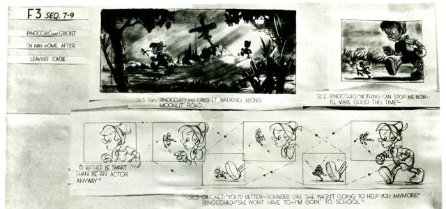 La Merveilleuse Aventure de Pinocchio [Walt Disney - 1940] Post2010