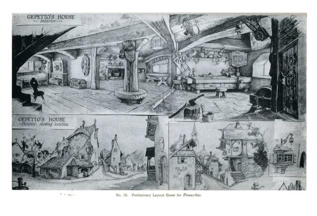 La Merveilleuse Aventure de Pinocchio [Walt Disney - 1940] Tunney10