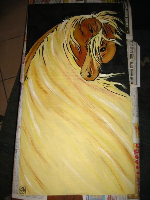 Affiche pour spectacle des 20 ans de l'Asso Cheval Passion 333_2914