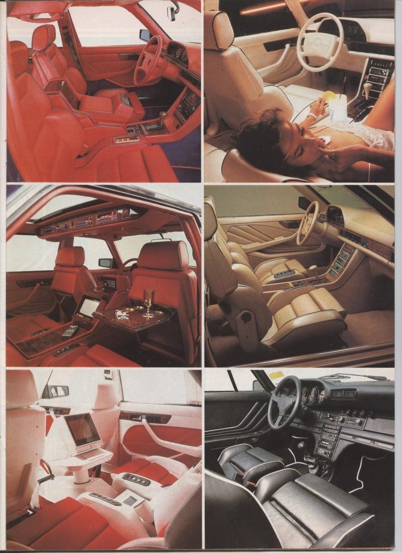 (W126): Modelos especiais da alemã GEMBALLA - 1983/1984 Image10