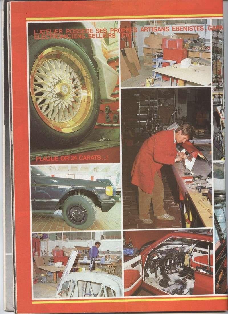 (W126): Modelos especiais da alemã GEMBALLA - 1983/1984 Image11
