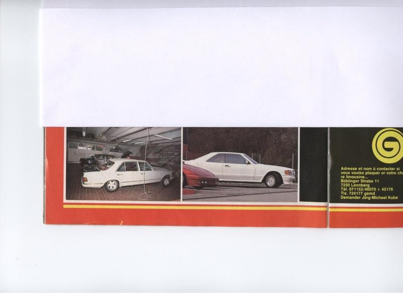 (W126): Modelos especiais da alemã GEMBALLA - 1983/1984 Image14