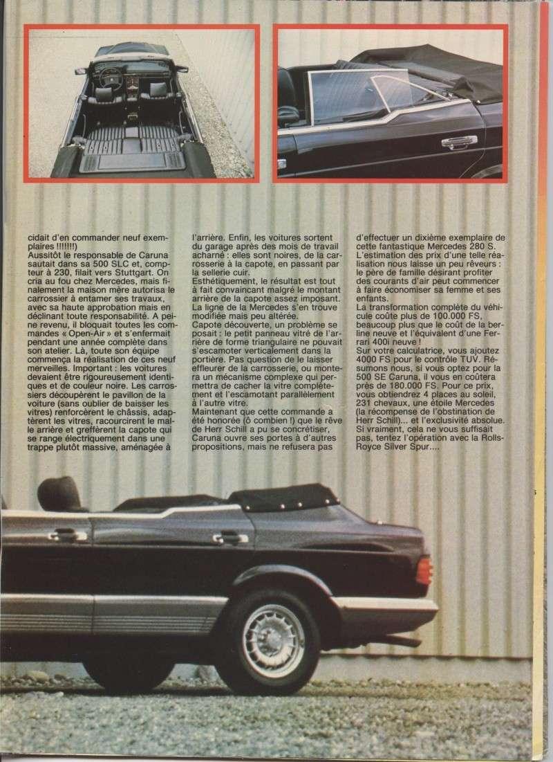 (W126): Modelo especial da suíça CARUNA Image20