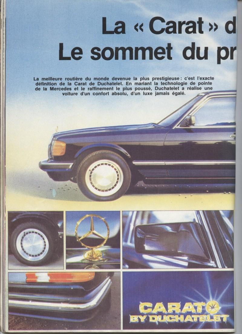 "(W126): Modelo especial ""CARAT"" da francesa DUCHATELET Image21"